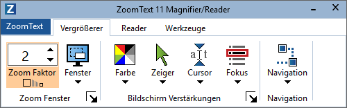 Zoomtext Version 11
