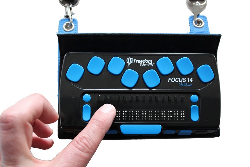 Focus 14 Blue Braille Display