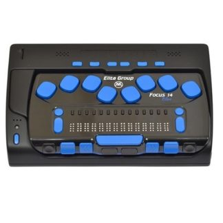 elbraille and focus 14 Blue