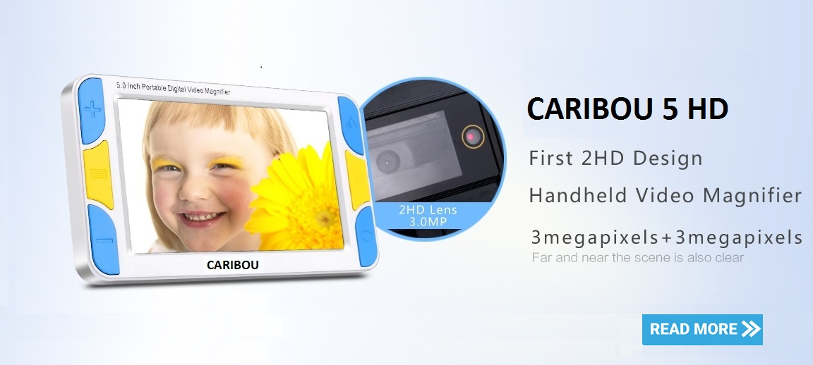 CARIBOU 5 HD Portable Video Magnifier